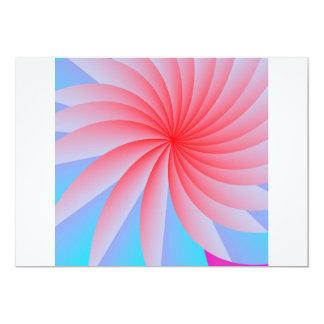 Passion Flower Pink Envelopes 13 Cm X 18 Cm Invitation Card