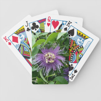 Passion Flower Purple and Green Card Decks