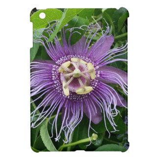 Passion Flower Purple and Green iPad Mini Case