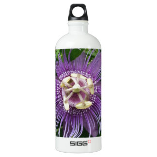 Passion Flower Purple and Green SIGG Traveller 1.0L Water Bottle