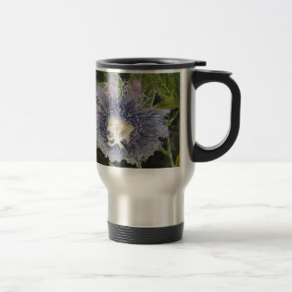 Passion Flower Purple Art Mugs