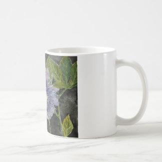 Passion Flower Purple Art Coffee Mug