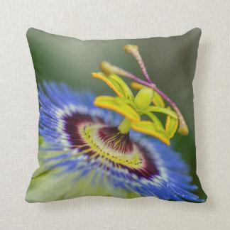 Passion Flower Throw Pillow Home Decor Throw Cushions