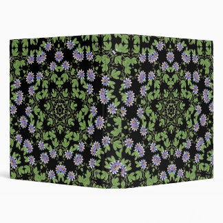 Passion Flowers Avery Binder