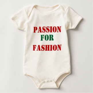 Passion for fashion baby bodysuits