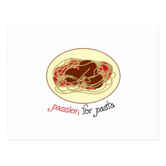 Passion For Pasta Postcard