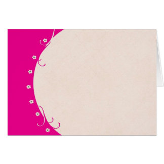 Passion for Pink Note Card