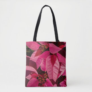 Passion For Poinsettias Christmas Tote Bag