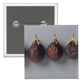 Passion fruit aging 15 cm square badge