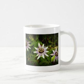 Passion Fruit Flower Mugs