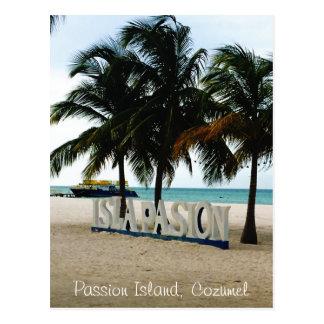 Passion Island,Cozumel postcard