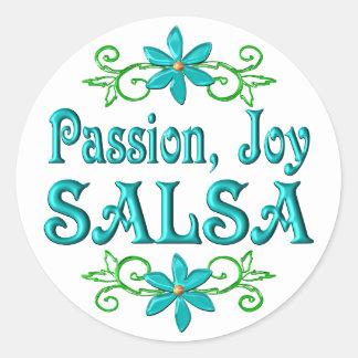Passion Joy Salsa Sticker
