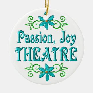 Passion Joy Theatre Christmas Ornament
