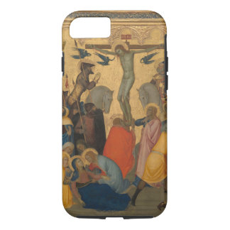 Passion of Jesus Christ Crucifixion Painting iPhone 8/7 Case