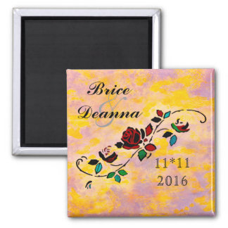 Passion Pieces Save The Date Magnet