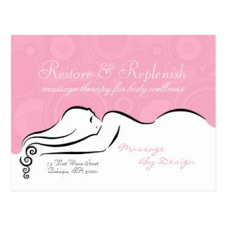 Passion Pink Darla Postcard
