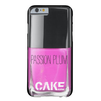 PASSION PLUM NAIL POLISH CASE BARELY THERE iPhone 6 CASE
