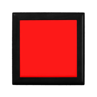 Passion Red Small Square Gift Box