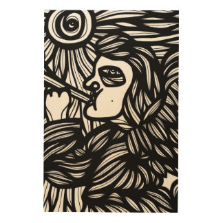 Passionate Clean Skillful Encouraging Wood Print