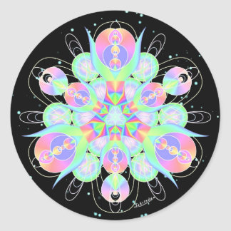 Passionate Co-Creation Round Sticker