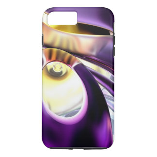 Passionate Orchid Abstract iPhone 7 Plus Case