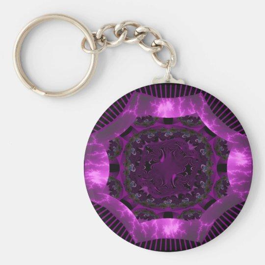 Passionate Purple Keychain