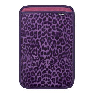 Passionate Purple Leopard Skin Sleeve For MacBook Air