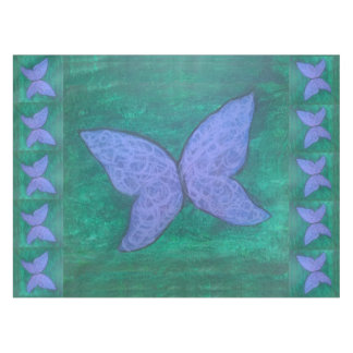Passionate Table | Butterfly Purple Blue Green Tablecloth