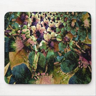 Passionately Floral Designer Mousepad