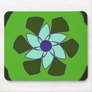 Passionfruit Flower Mandala Mousepads