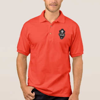 Passionists symbol polo shirt