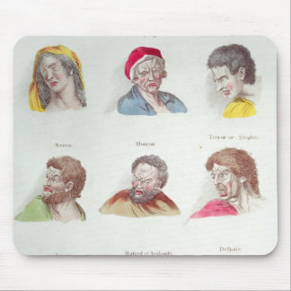 Passions, plate V, pub. by R. Edwards, London Mouse Pad