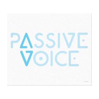 Passive Voice Canvas Print