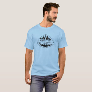 Passout Vashon Island T-shirt, black ink T-Shirt