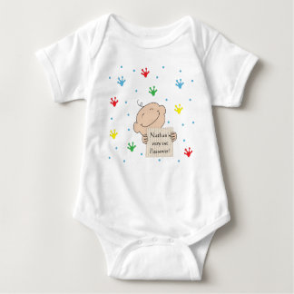 """Passover Baby Bodysuit Customize """"1st Passover"""""""