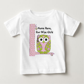 "Passover Baby Pink/Green Shirt ""The Wise Child"""