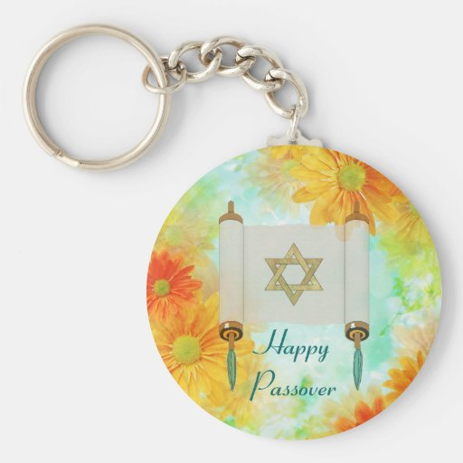 Passover Greetings Key Chain