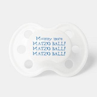 PASSOVER MATZO BALL BINKY PACIFIER