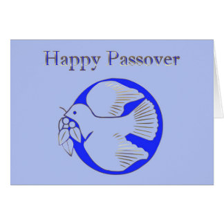 Passover Pesach Greeting Shalom Jewish Hebrew Star Greeting Card