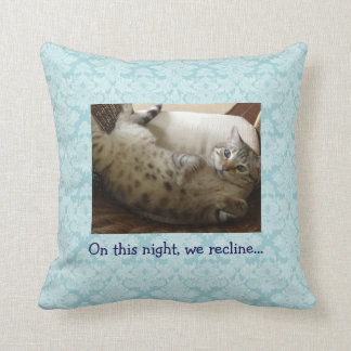 Passover Shades of Blue Recline Cushions
