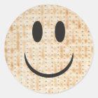 "Passover Sticker Circle ""Happy Matzah"""