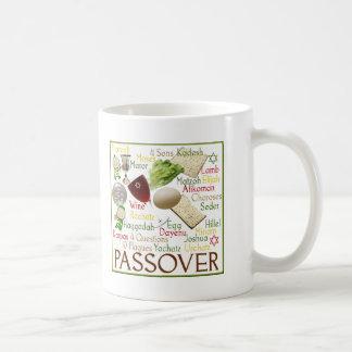 Passover Symbols Coffee Mugs