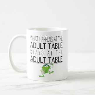 "Passover ""The Adult Table"" 11 oz Coffee Mug"