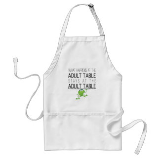 "Passover ""The Adult Table"" Standard Apron"