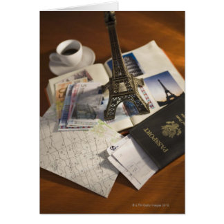 Passport and memorabilia card