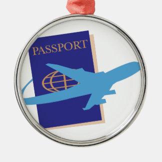 Passport Christmas Ornament
