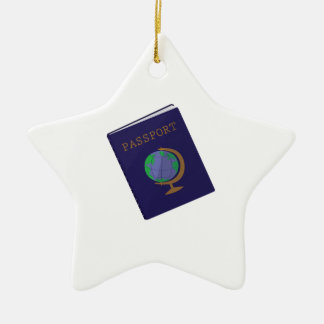 Passport Christmas Ornament