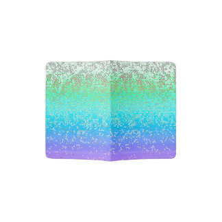 Passport Holder Glitter Star Dust