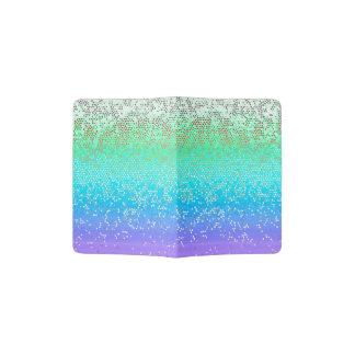 Passport Holder Glitter Star Dust