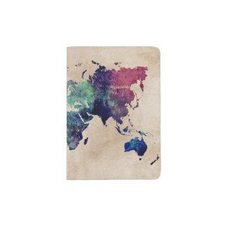 Passport Holders & Covers world map